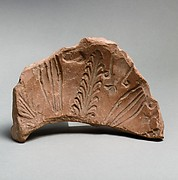 Terracotta fragment of a mold for a Megarian bowl