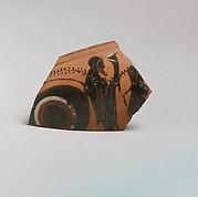 Kylix, eye-cup fragment