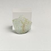Glass network mosaic fragment
