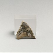 Glass mosaic inlay fragment