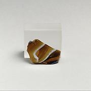 Glass mosaic fragment