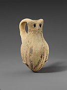 Terracotta rattle (?) in the form of an owl