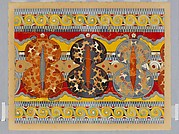 Reproduction of the &quot;Shield frieze&quot; fresco