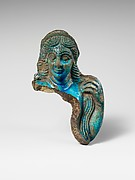 Faience statuette fragment of Venus