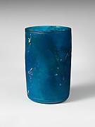 Cylindrical glass beaker