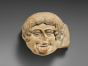 Terracotta antefix (roof tile)