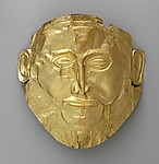 Reproduction of the gold &quot;Mask of Agamemnon&quot;