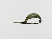 Bronze sanguisuga-type fibula (safety pin)