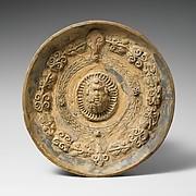 Terracotta phiale (libation bowl)