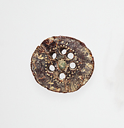 Segment from a bronze fibula (safety pin)