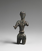 Bronze male figure
