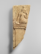 Fragment of a marble neo-Attic relief with Peitho