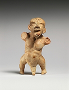 Terracotta statuette of a dwarf