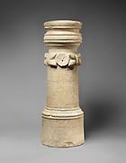Limestone funerary cippus (tomb marker) of Artemidoros