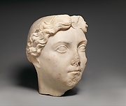 Marble portrait of Livia
