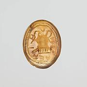 Agate intaglio: Uterine symbol