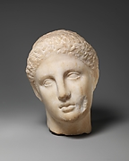 Marble head of a youth
