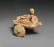 "Terracotta model of a ""cart"""