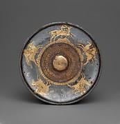 Gilt silver phiale mesomphalos
