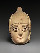 Terracotta head of a man
