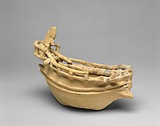Terracotta model of a ship