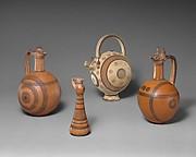 Terracotta composite juglet