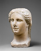 Marble head of a Ptolemaic queen