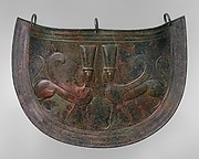 Bronze mitra (belly guard)