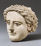 Terracotta head of a youth