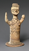 Terracotta female figure