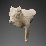 Terracotta statue of a bull