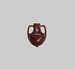 Miniature amber amphora (jar)