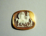 Sardonyx cameo of a nymph riding a centaur
