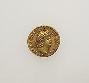 Gold aureus of Nero