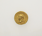 Gold aureus of Titus