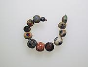 Glass mosaic beads
