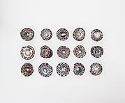 Millefiori bead rods, 15