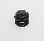Glass pendant shaped like a jar