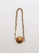 Earring, chain type