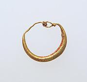 Earring-loop type, plain