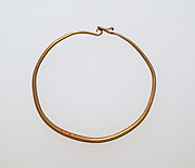 Earring-loop type, plain