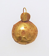 Earring-hook type with sphere ends