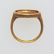 Ring with box setting