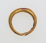 Ring with sard