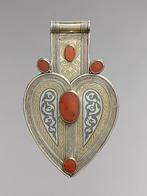Cordiform pendant