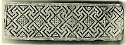 Fragment from a Frieze with Meander Pattern and Diamond-Shaped Rosettes