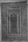 Red-Ground Prayer Rug