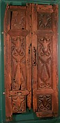 Pair of Doors Carved in the &#39;Beveled Style&#39;