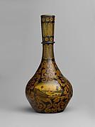 Vase with Landscape Vignette