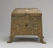 Casket with Figural Imagery